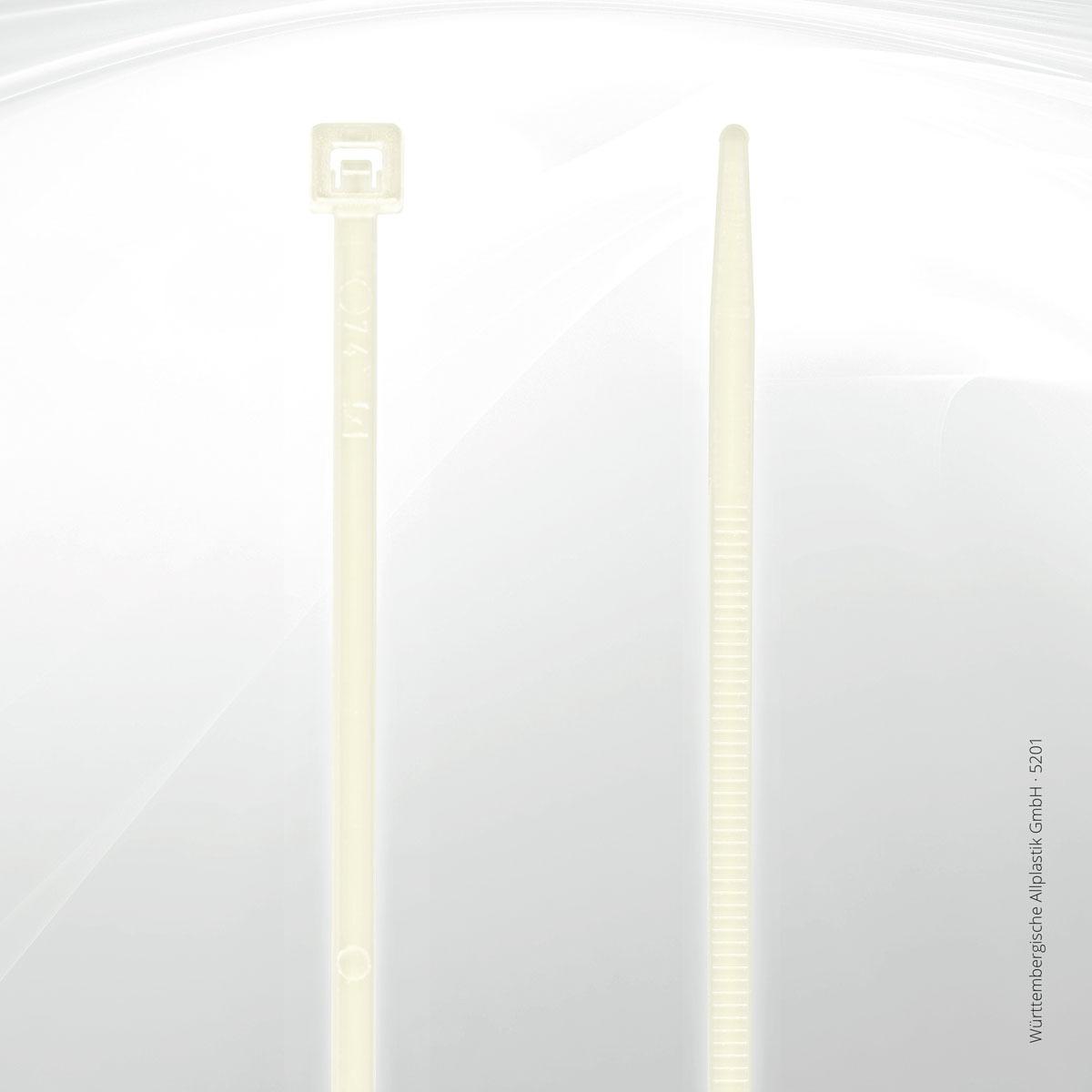 Kabelbinder Standard | Württembergische Allplastik GmbH® | Allplastik