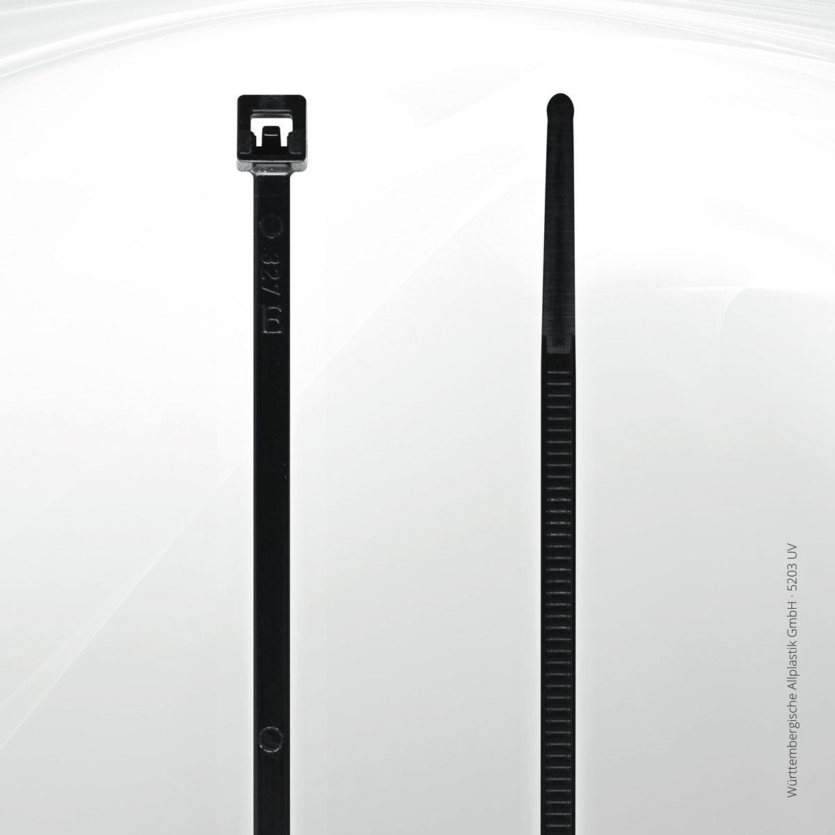 kabelbinder uv best ndig kaufen w rttembergische allplastik gmbh allplastik. Black Bedroom Furniture Sets. Home Design Ideas
