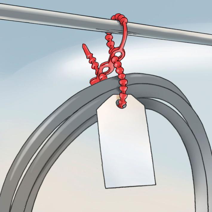 Kabelbinder für diverse Einsatzgebiete   Allplastik
